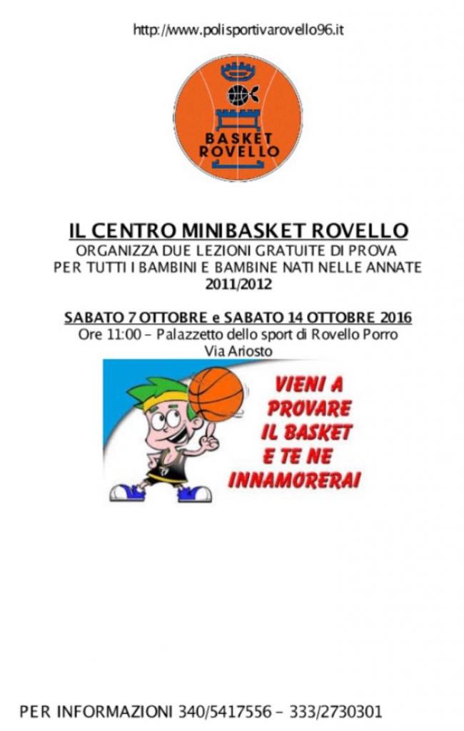 volantino minibasket ottobre2017